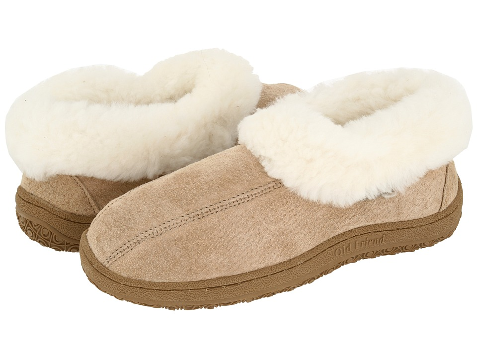 Old Friend - Juliet (Chestnut W/Natural Fleece) Womens Slippers