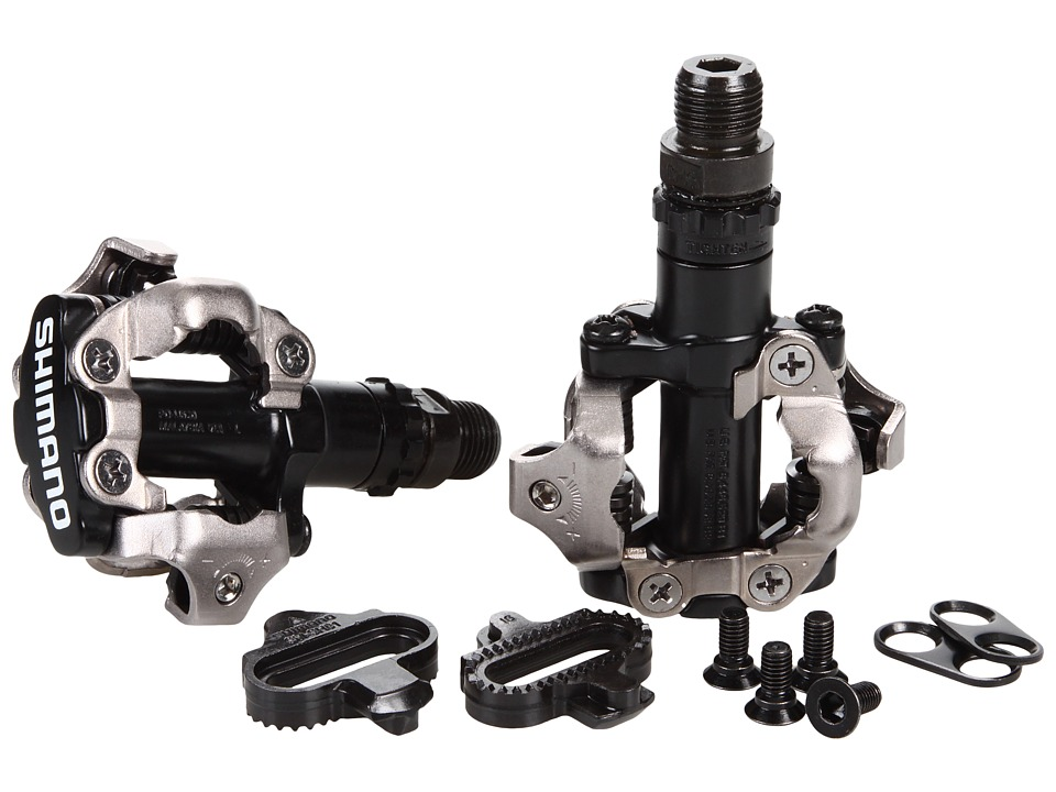 Shimano - PD-M520 MTB SPD Pedal (Black) Athletic Sports Equipment