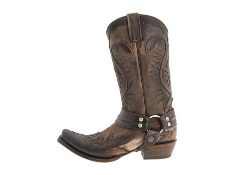 Stetson Snip Toe Harness W/ Bleach Boot - Zappos.com Free Shipping