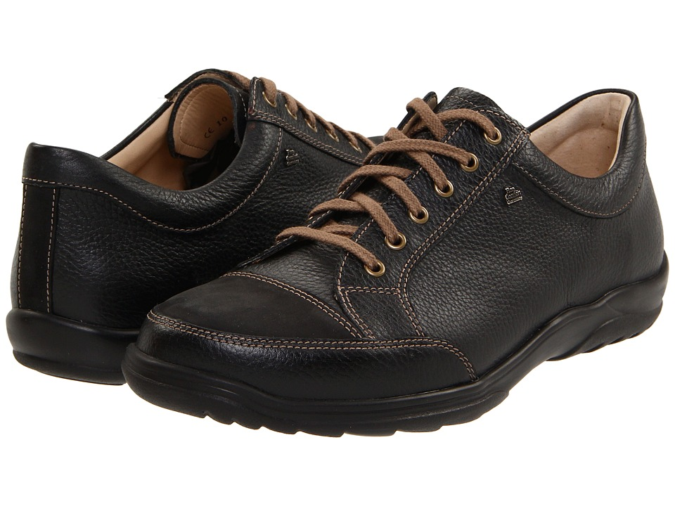Finn Comfort - Alamo - 1288 (Black) Mens Lace up casual Shoes