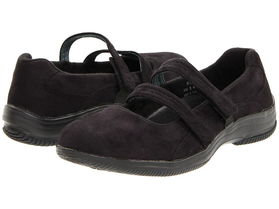 Propet - Bilite Walker (Black Velour) Women's Maryjane Shoes, wide width shoes