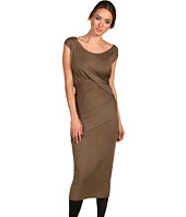 Donna Karan - Cap Sleeve Draped Dress