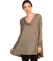 Donna Karan - Long Sleeve Drape Co