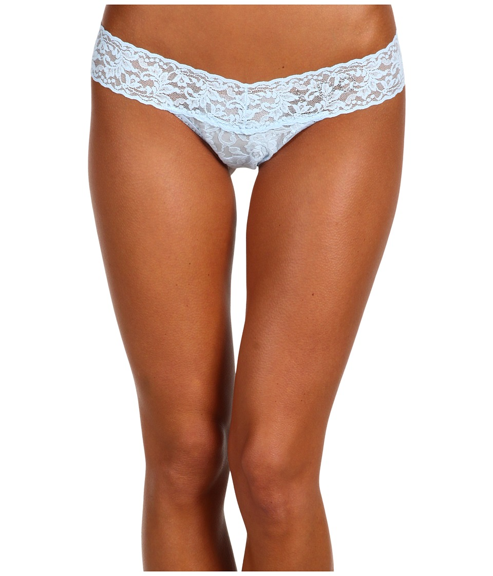 Hanky Panky - I DO Low Rise Bridal Thong (Powder Blue) Women's Underwear