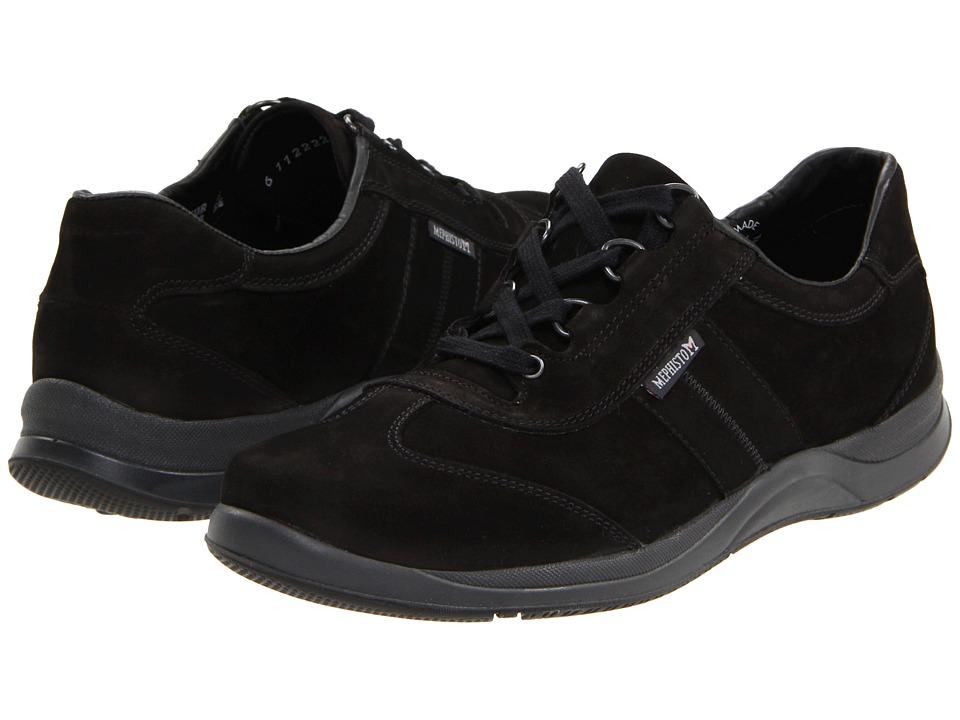 Mephisto Laser (Black Nubuck) Women's Shoes