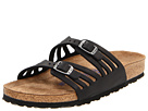 Birkenstock - Granada Soft Footbed (Black Oiled Leather)