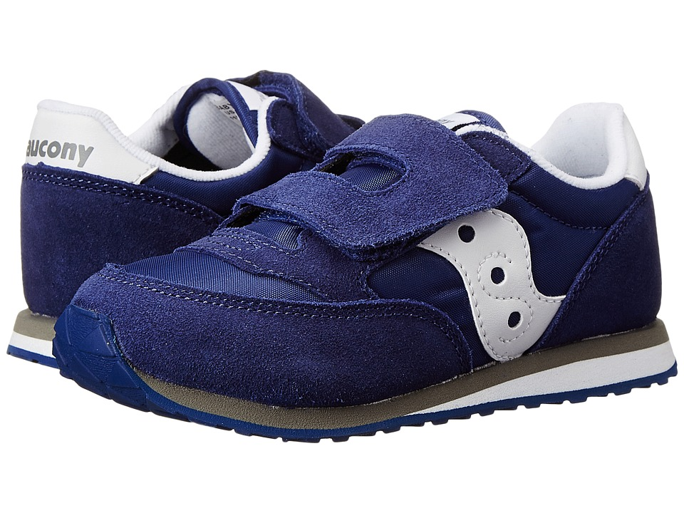 Saucony Kids Jazz HL Toddler/Little Kid Cobalt Blue Kids Shoes
