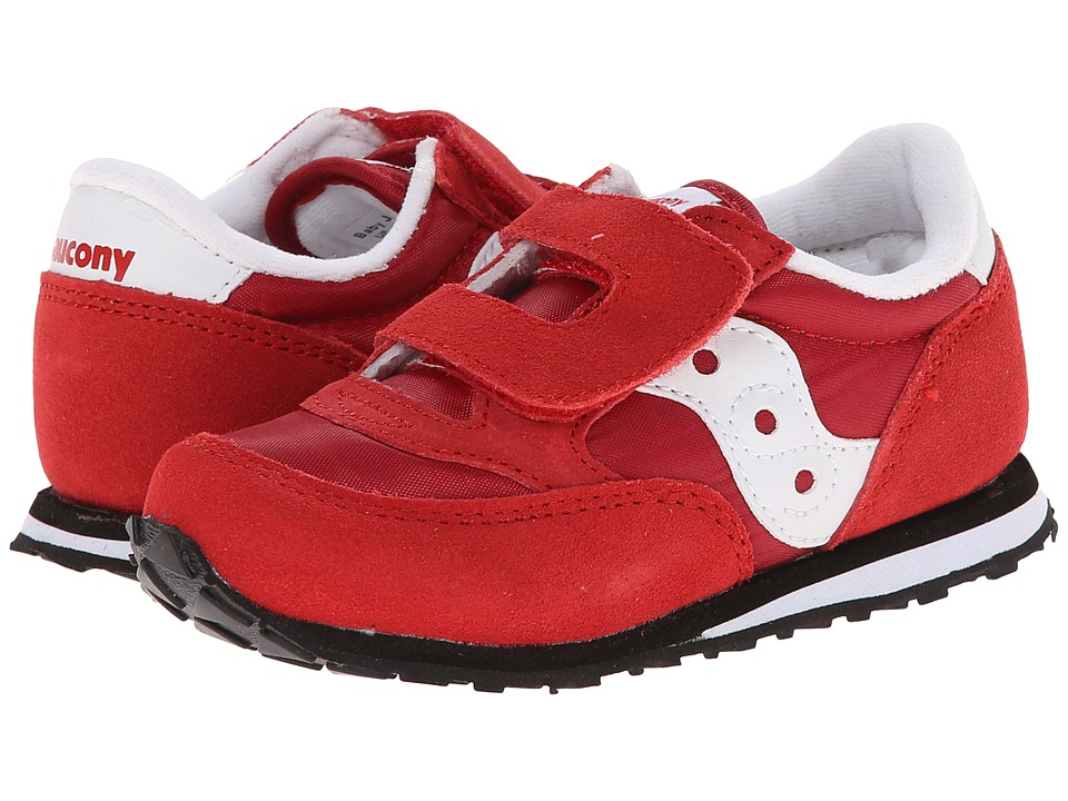 Saucony Kids - Jazz HL (Toddler/Little Kid) (Red) Kids Shoes