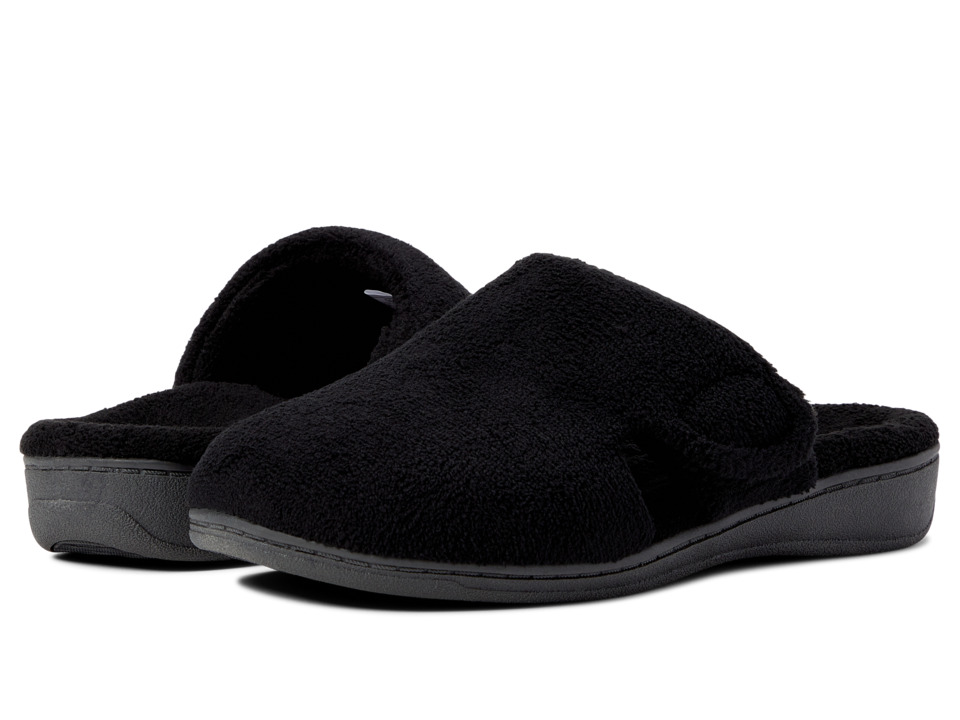 VIONIC Gemma (Black Terry) Slippers