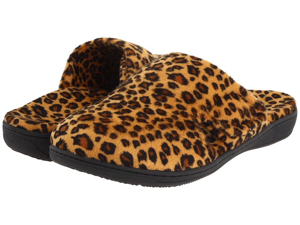 VIONIC Gemma (Tan Leopard) Slippers