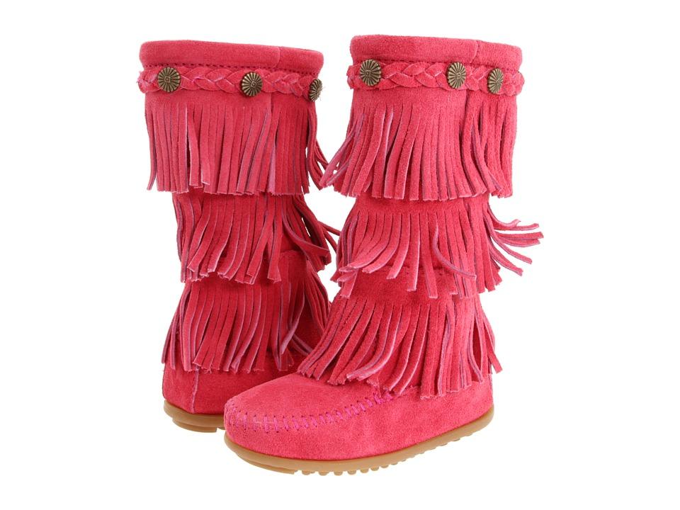 Minnetonka Kids - 3-Layer Fringe Boot