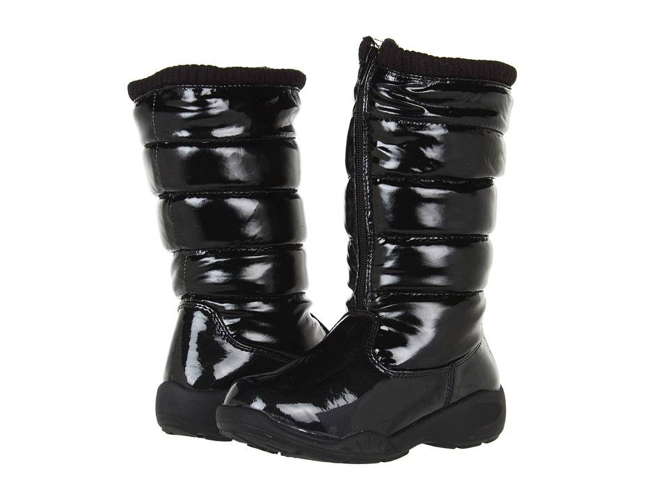 Tundra Boots Kids Puffy Little Kid/Big Kid Black Girls Shoes