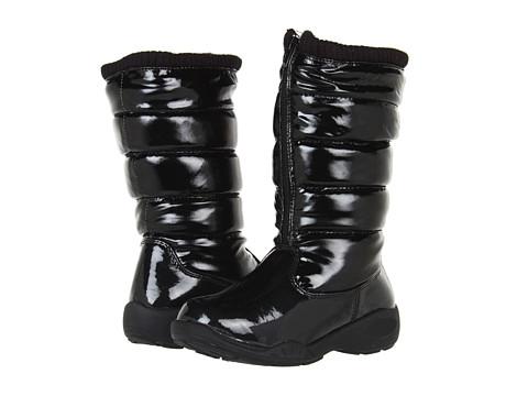 Tundra Boots Kids Puffy (Little Kid/Big Kid) - Black