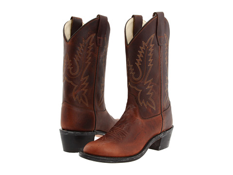 Old west kids boots round toe western boot big kid zappos com free