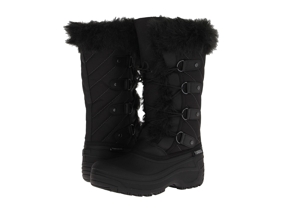Tundra Boots Kids Diana Little Kid/Big Kid Black Girls Shoes