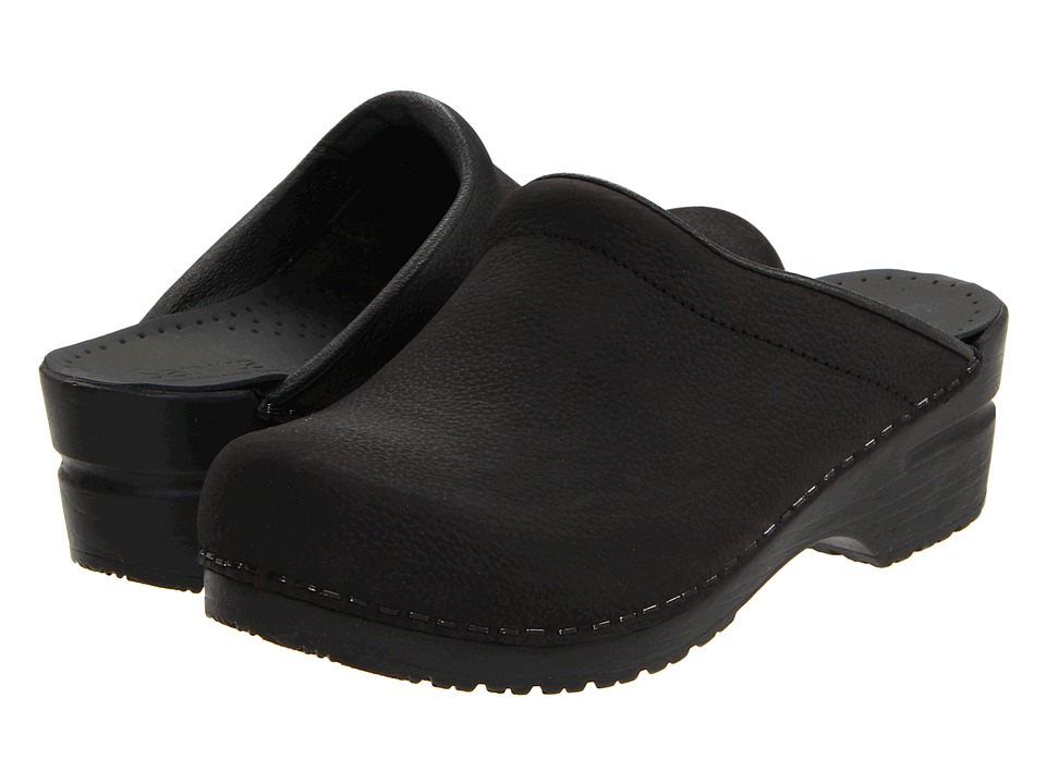Sanita - Sonja Oil (Black Oil) Womens Clog Shoes