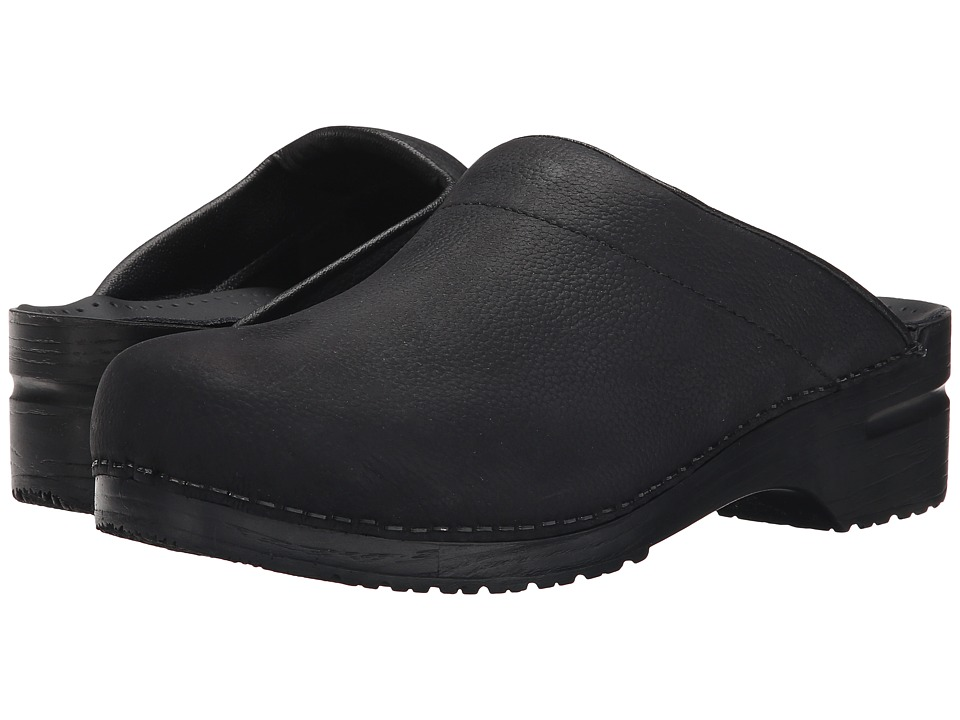 Sanita - Karl Oil (Black Oil) Mens Clog Shoes