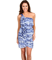 BCBGeneration - Printed Ruffle Front Dress