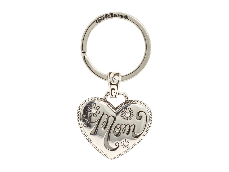 Brighton - Mom Key Fob (Silver) Wallet