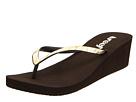 Reef - Krystal Star Luxe (Brown/White/Gold) - Footwear