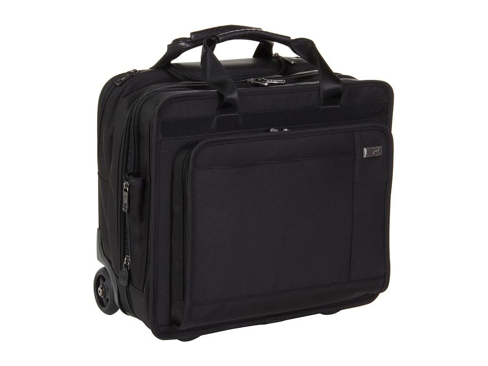 Victorinox - Architecture 3.0 - Rolling Trevi Expandable Wheeled Laptop Case (Black) Computer Bags