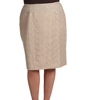 Jones New York - Plus Size Short No Waist Pencil Skirt