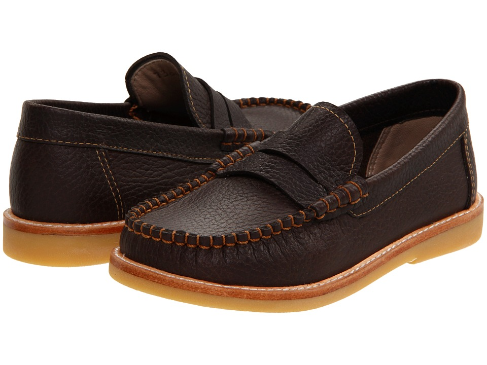 Elephantito Martin Loafer Toddler/Little Kid/Big Kid Brown 2 Boys Shoes