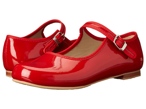Elephantito Mj W/ Piping (Toddler/Little Kid/Big Kid) - Red Patent