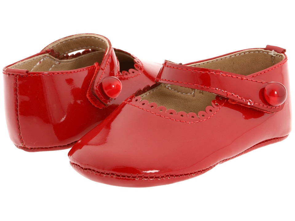 Elephantito Mary Jane Baby (Infant) (Red Patent) Girl