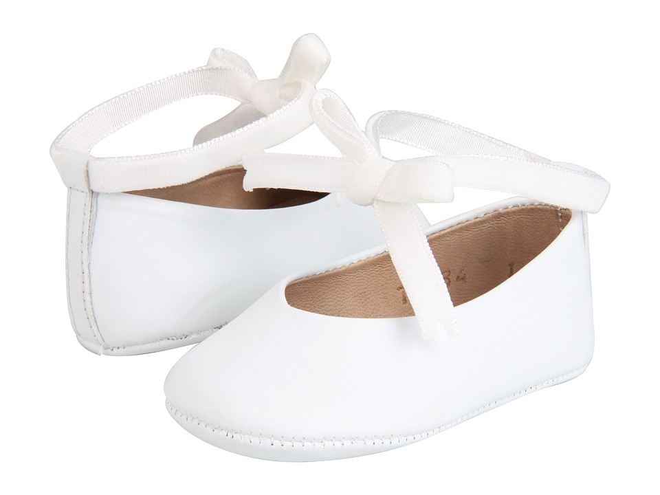 Elephantito Ballerina Baby (Infant) (White) Girl's Shoes
