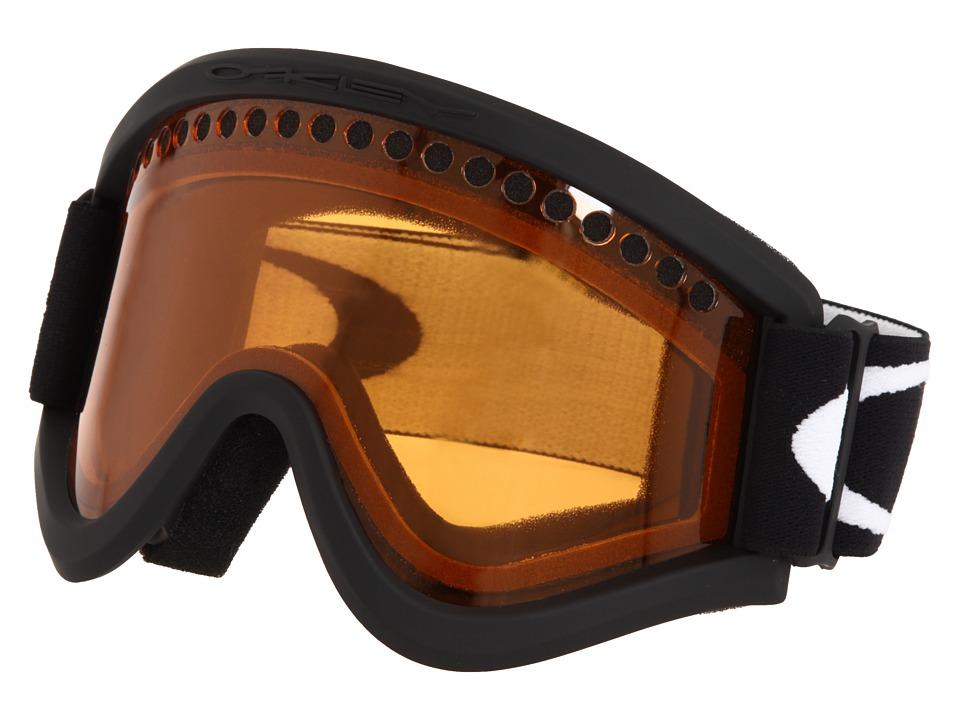 Oakley E Frame (Snow Black/Dual Vented Persimmon Lens) Snow Goggles