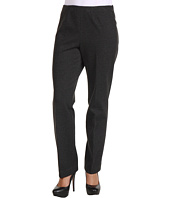 Jones New York - Petite Ponte Side Zip Slim Pant