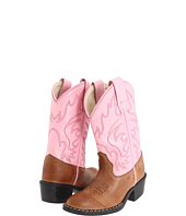 Old West Kids Boots - J Toe Western Boot (Toddler/Youth)