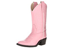 Old West Kids Boots J Toe Western Boot (Toddler/Little Kid) (Pink)