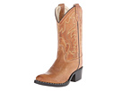 Old West Kids Boots J Toe Western Boot (Toddler/Little Kid) (Tan Canyon)