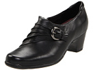 Clarks - Sugar Charm (Black Leather) - Clarks Shoes