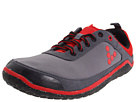 Vivobarefoot - Neo (Dark/Grey Red Hydro Phobic Mesh) - Footwear