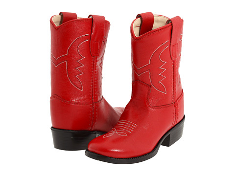 Old West Kids Boots Western Boot (Toddler) - Red