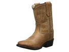 Old West Kids Boots Western Boot (Toddler) (Tan Canyon)
