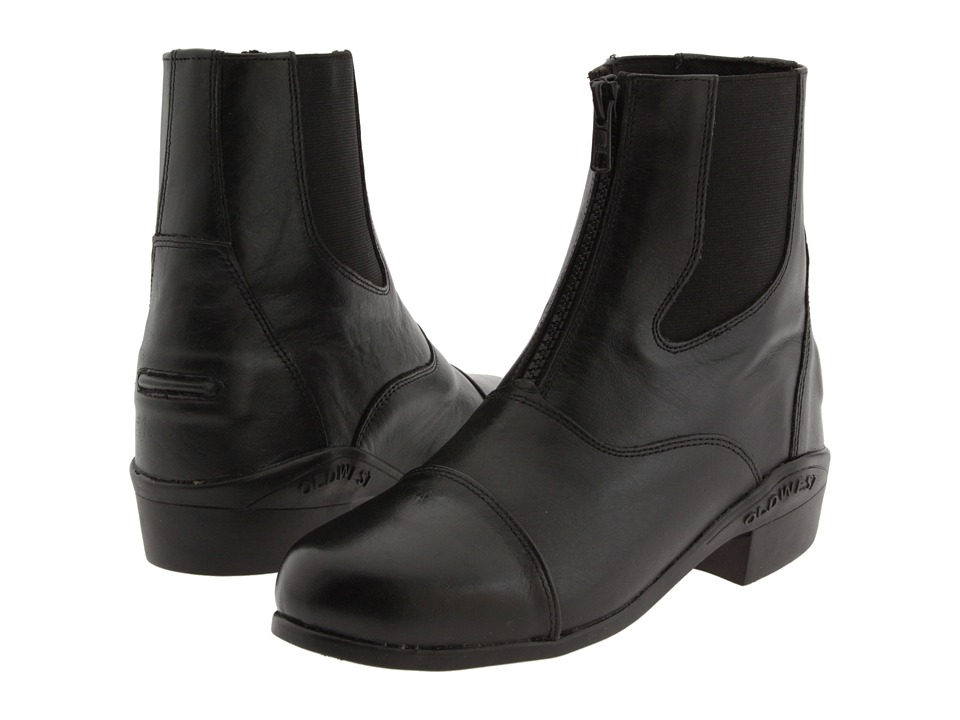 Old West English Kids Boots - Zipper Boot