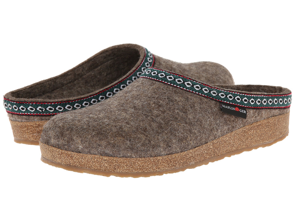 Haflinger of Germany GZ Classic Grizzly (Earth) Clog Shoes