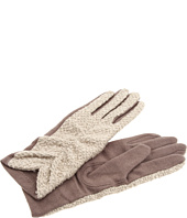 Echo Design - Ruched Boucle Gloves