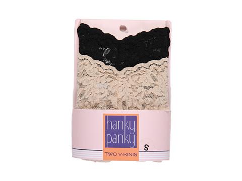 Hanky Panky Signature Lace V-Kini 2-Pack