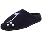 Haflinger Golf Slipper (Navy)