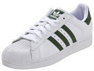 adidas Originals - Superstar 2 (White/Base Green/White) - Footwear