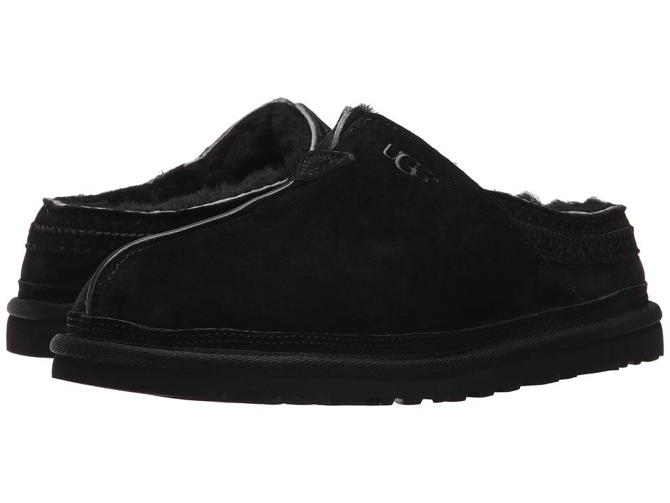 Ugg Neuman (Black) Men's Clog Shoes