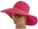 San Diego Hat Company San Diego Hat Company RBL205 Ribbon Crusher Hat with Ticking Sun Hat