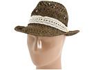 San Diego Hat Company RHF6108 Raffia Fedora