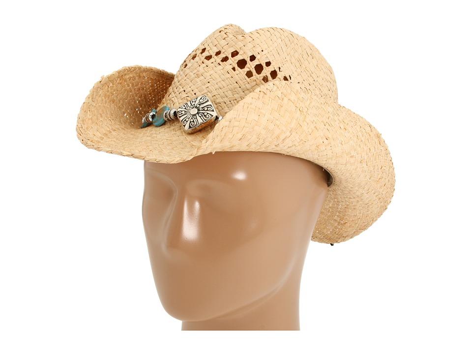 MampF Western 71046 Diamond/Turquoise Cowboy Hats