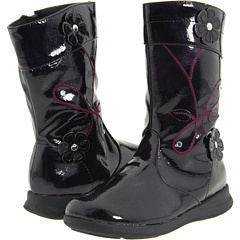 Rachel Kids Fallon (Toddler) Black Patent - 6pm.com :  school back to school shoes boots